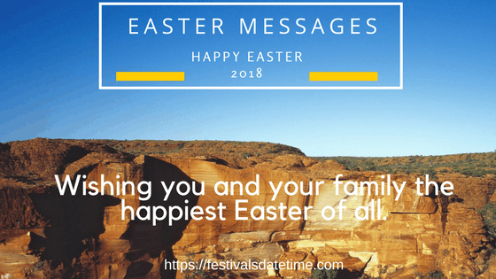 Happy Easter Quotes Messages