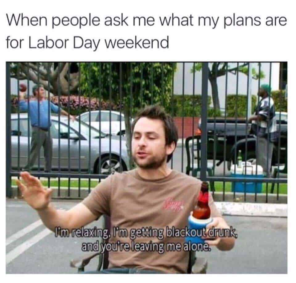 labor day meme 2018