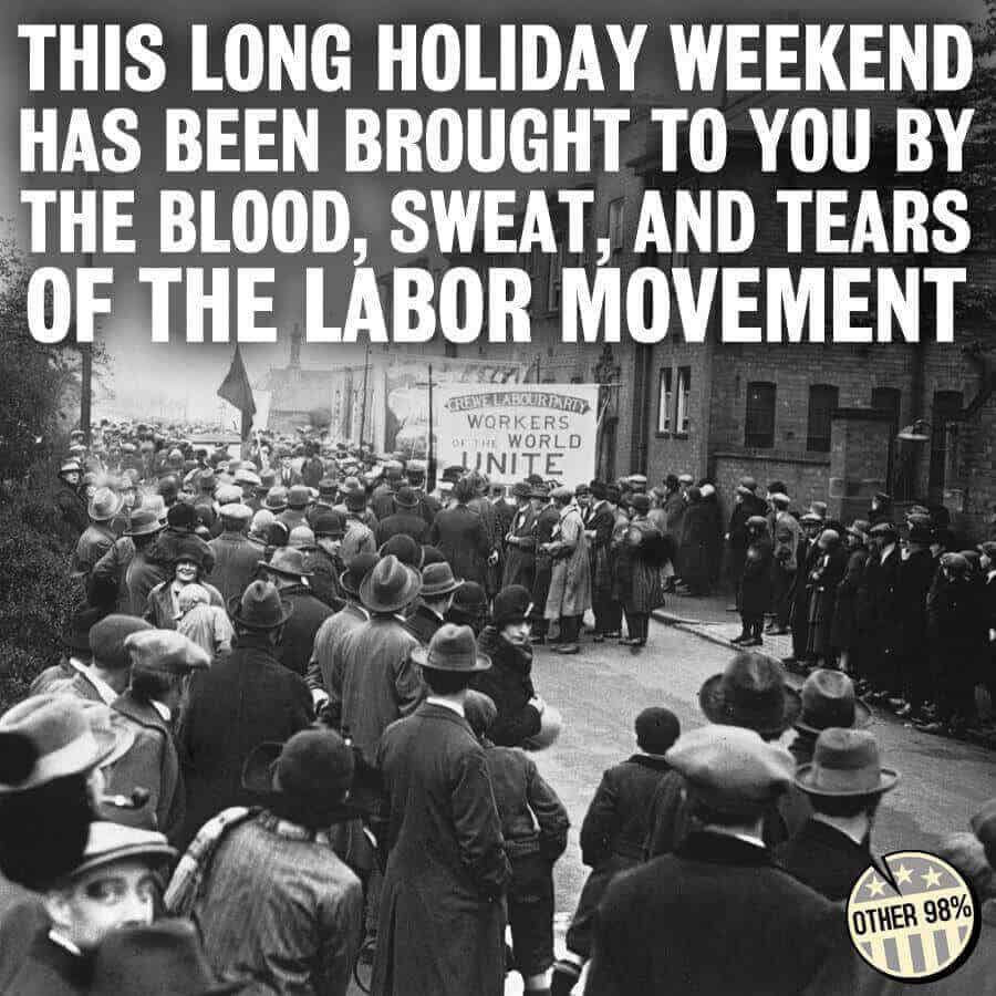 labour day weekend meme