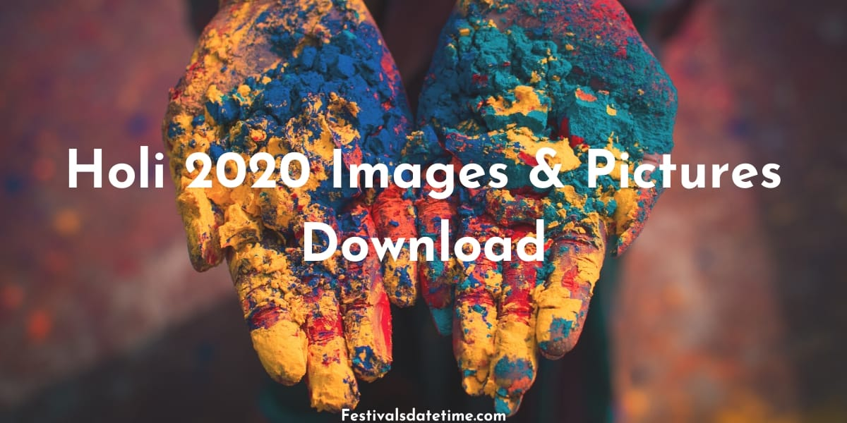 Holi 2020 Images & Pictures Download